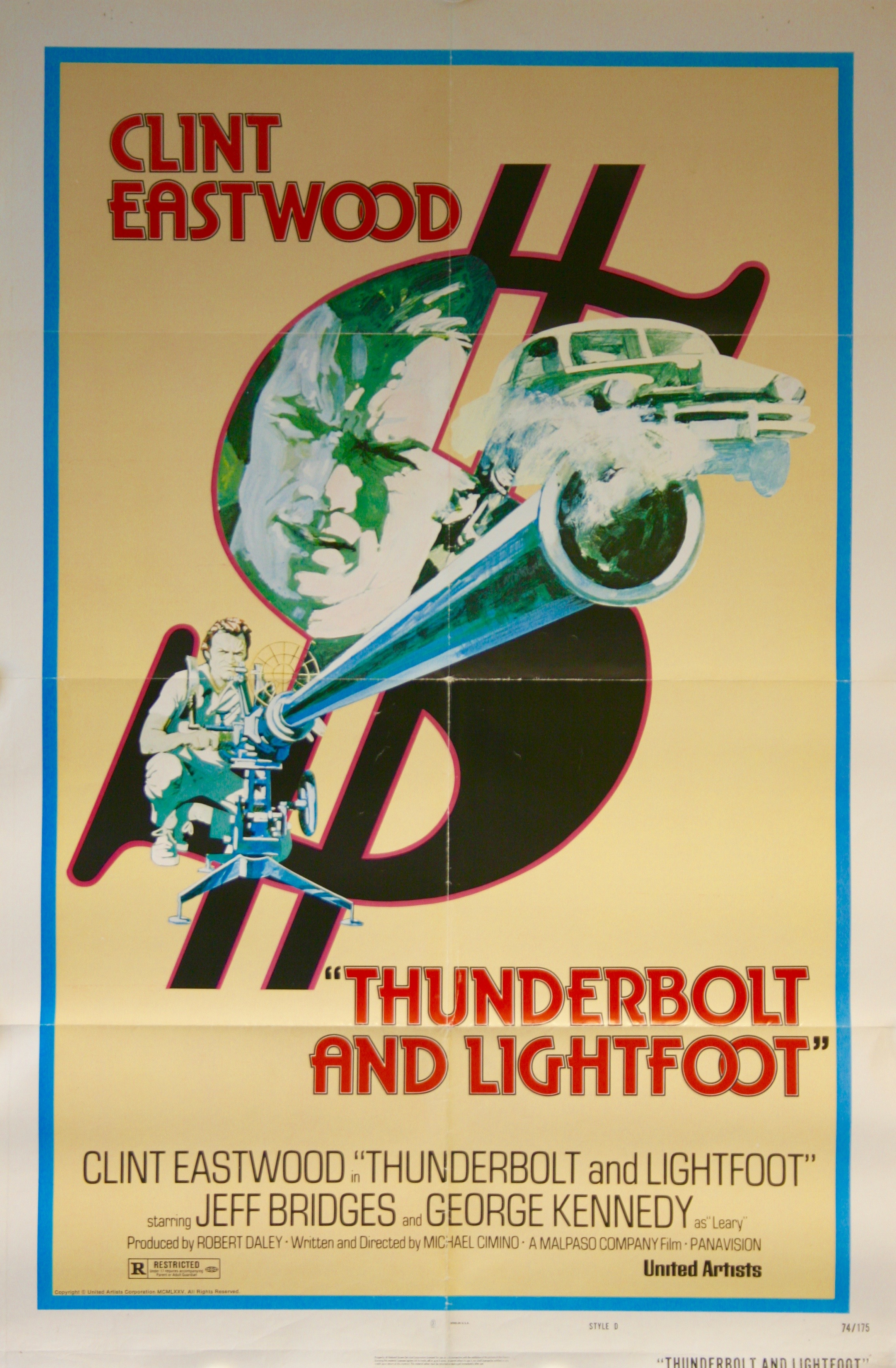 Thunderbolt And Lightfoot Vintage Movie Posters