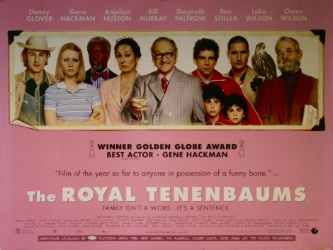the royal tenenbaums movie poster original poster