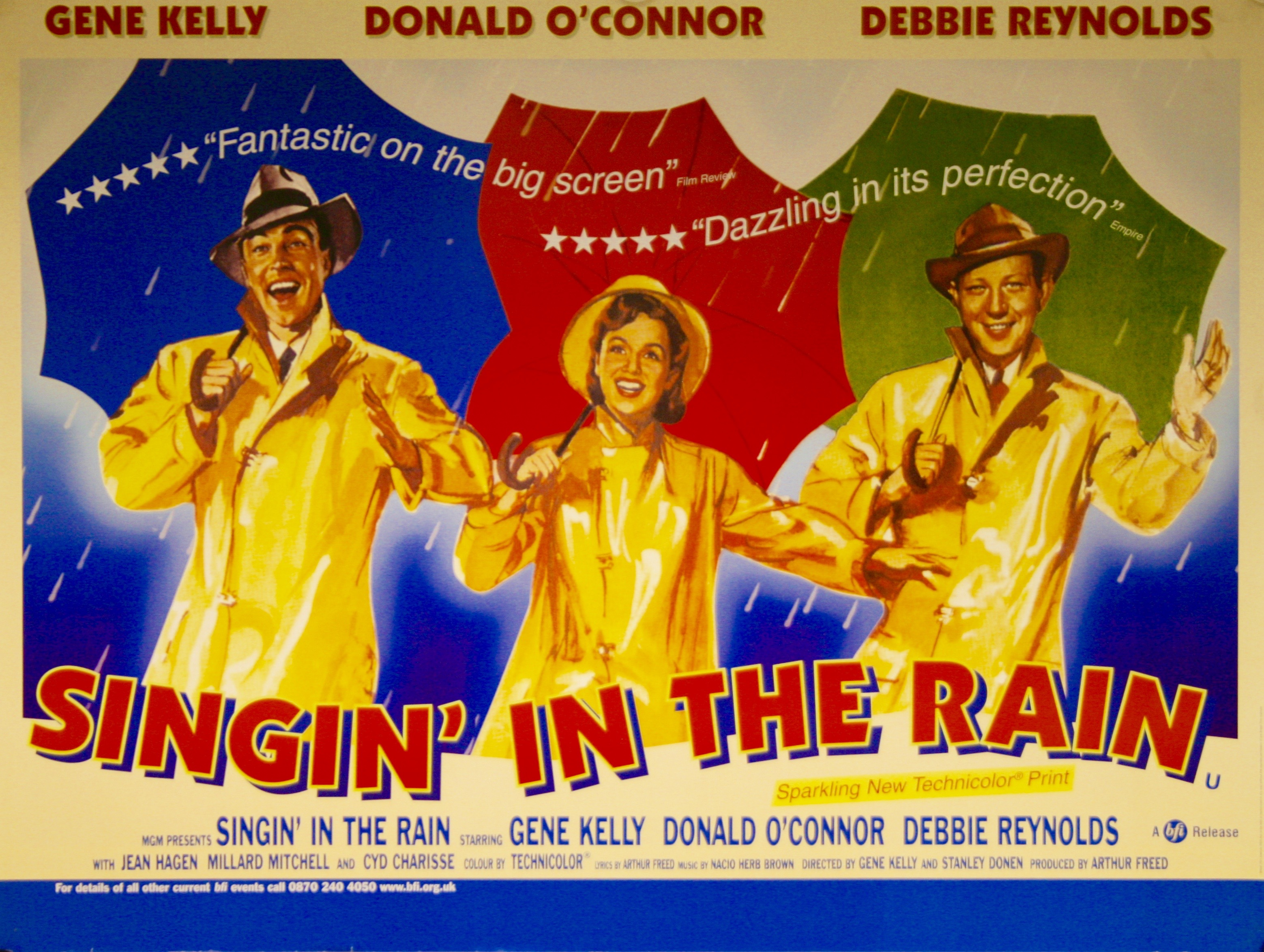 Singin in the Rain - Vintage Movie Posters