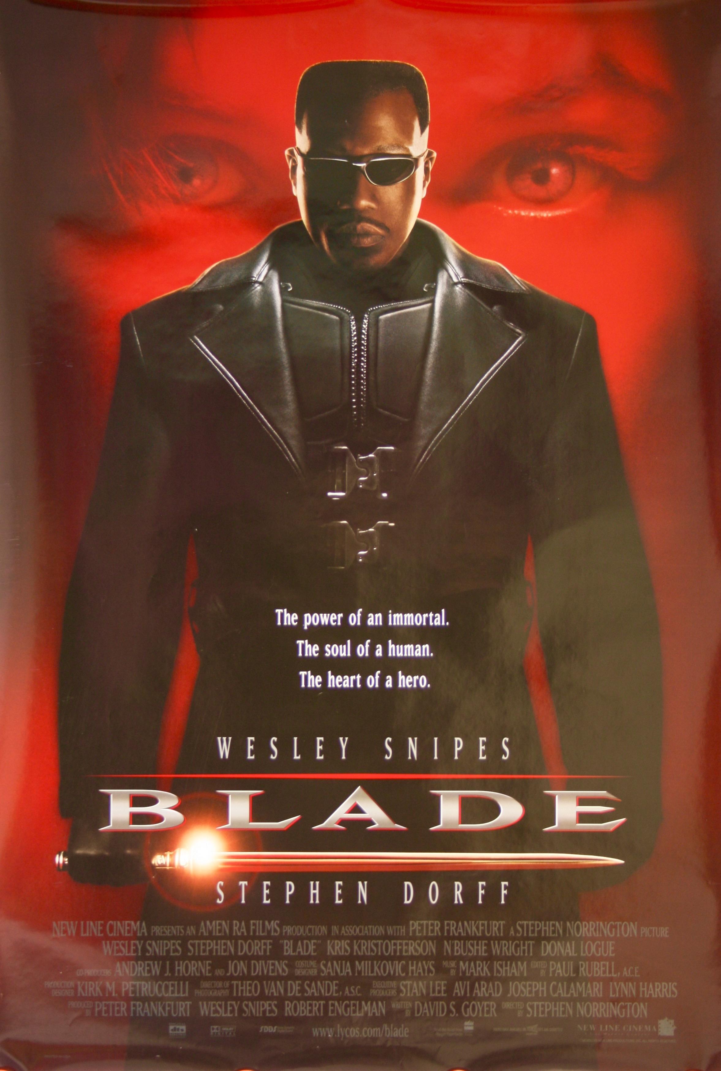BLADE - Vintage Movie Posters