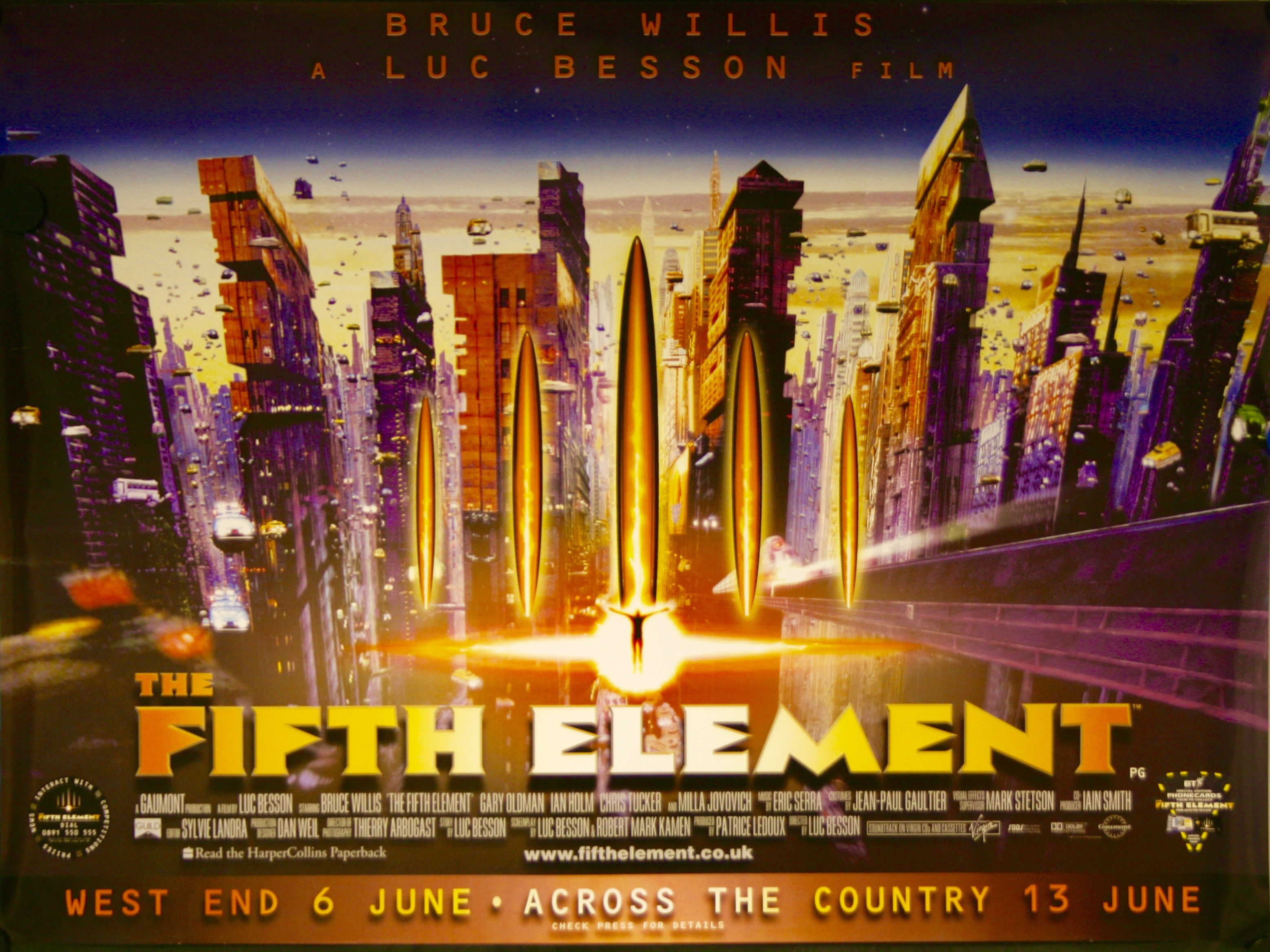 Image result for the fifth element poster