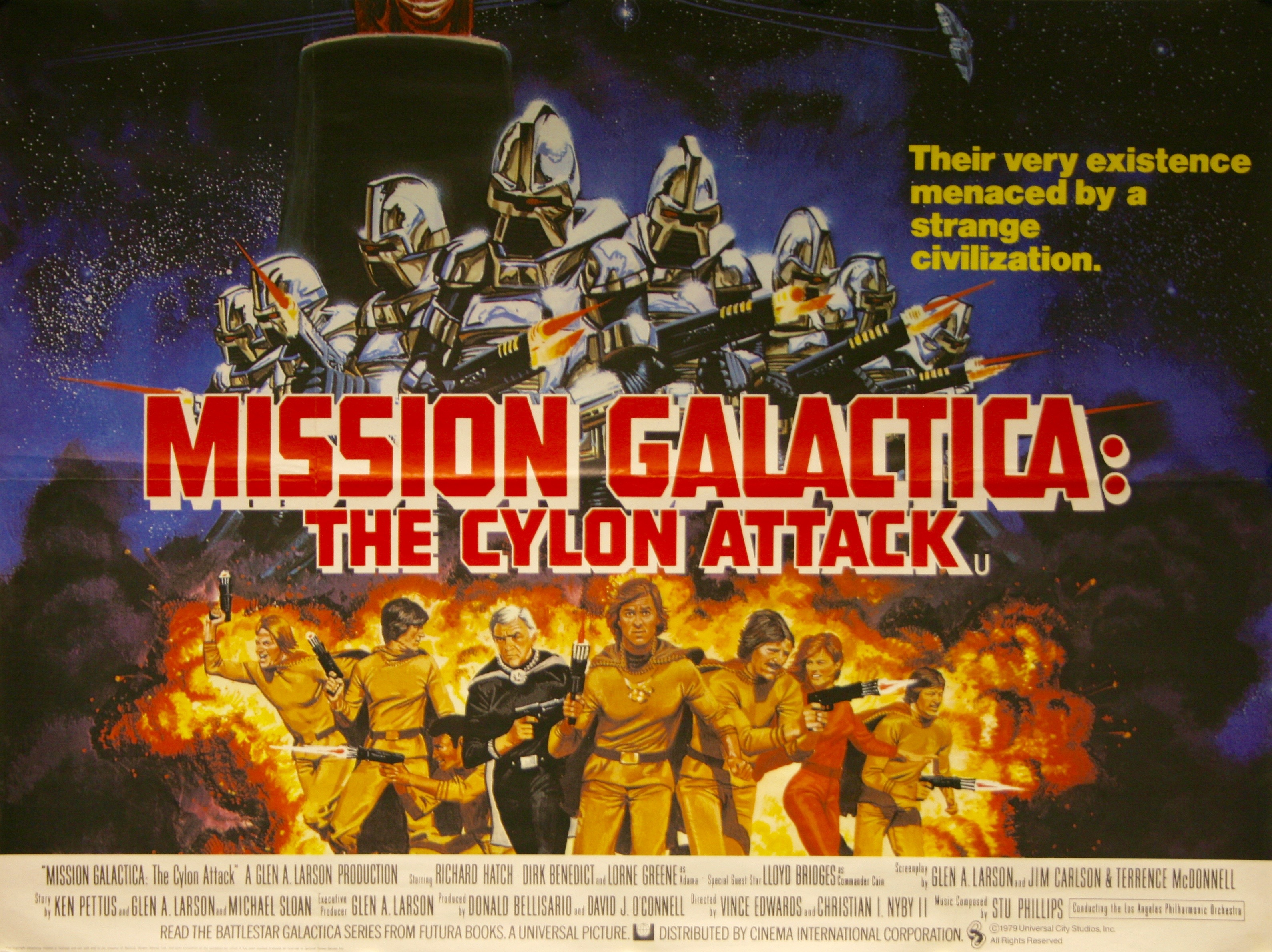 Mission Galactica The Cylon Attack Details