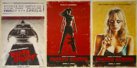 death proof planet terror vintage movie posters