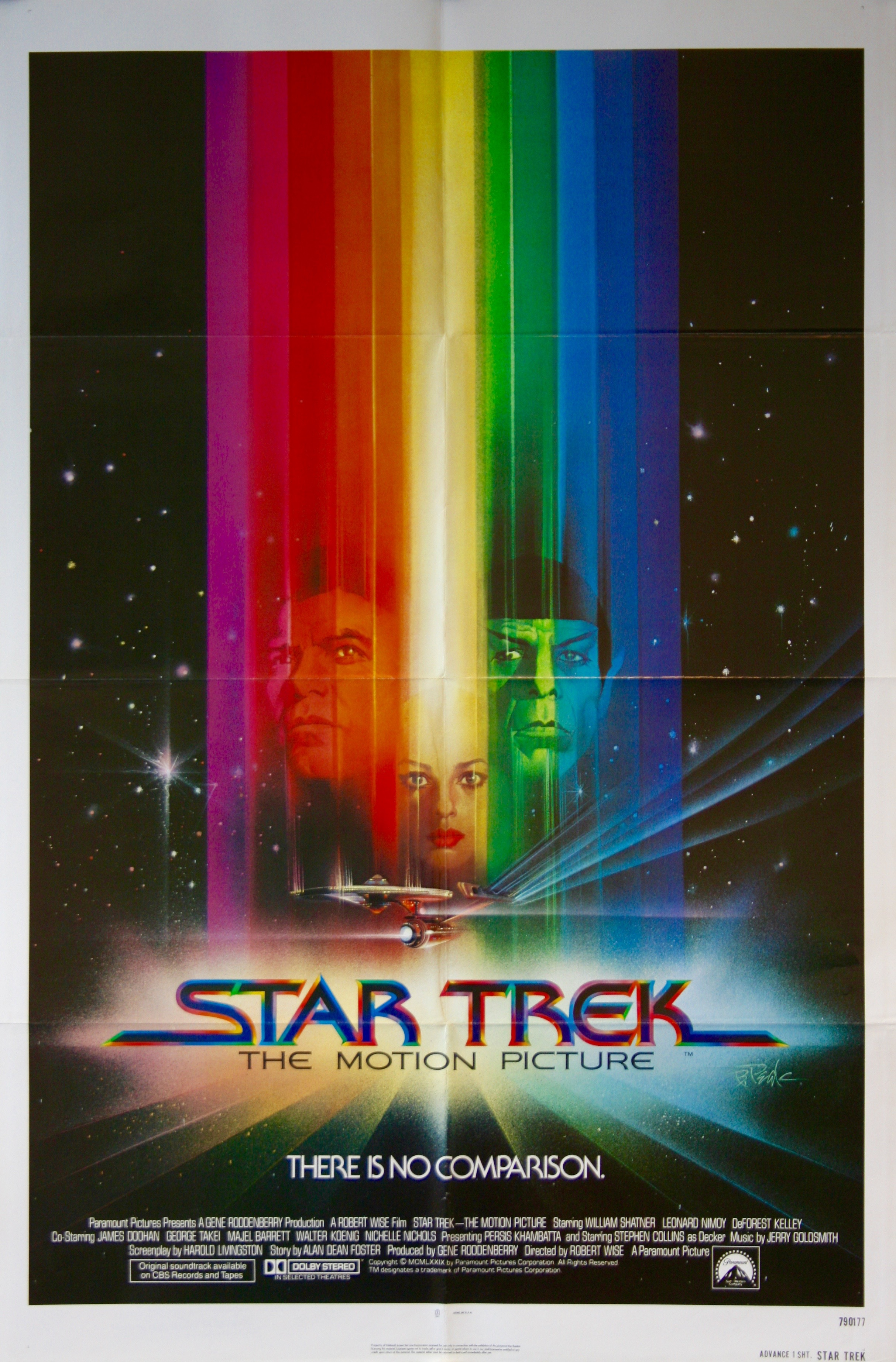 Star Trek The Motion Picture - Vintage Movie Posters