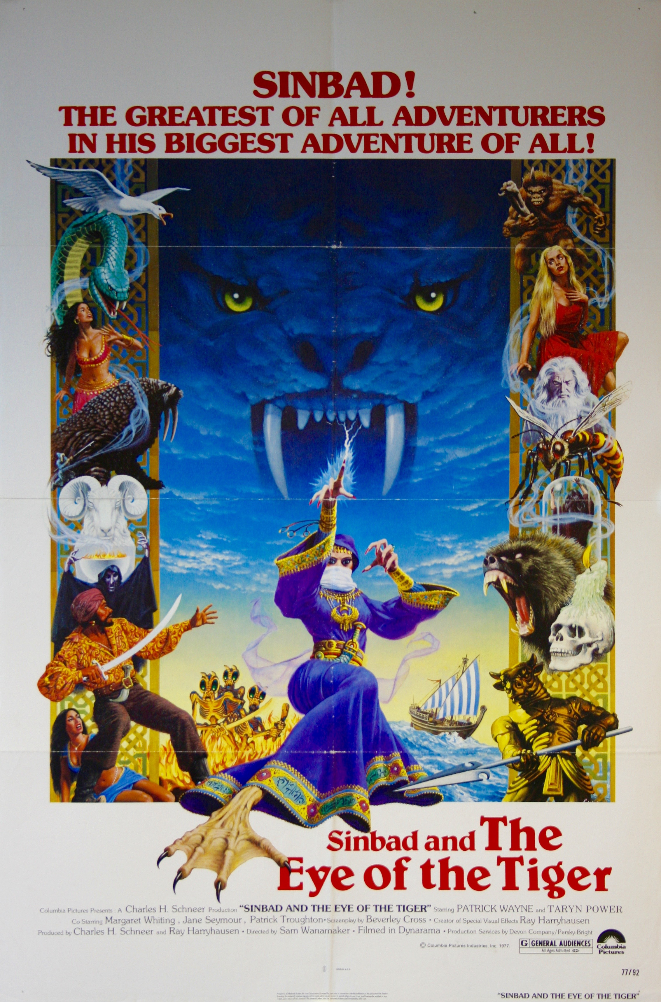 Sinbad and the Eye of the Tiger - Vintage Movie Posters