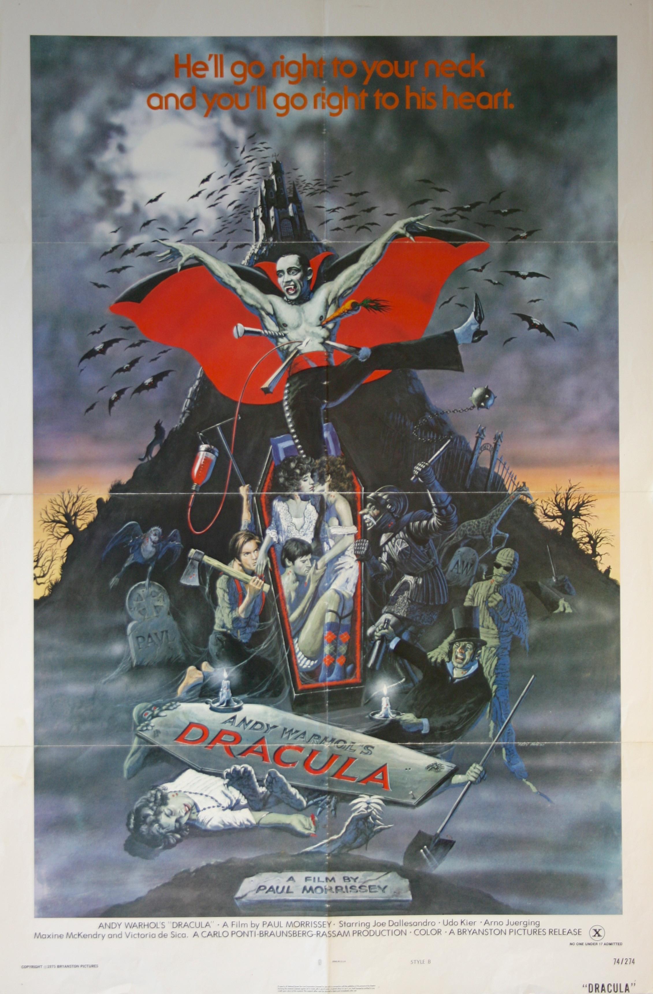 Andy Warhol's Dracula - Vintage Movie Posters