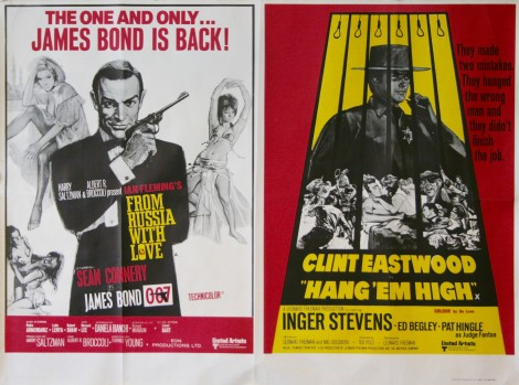 From-Russia-With-Love-/-Hang-'Em-High-Movie-Poster