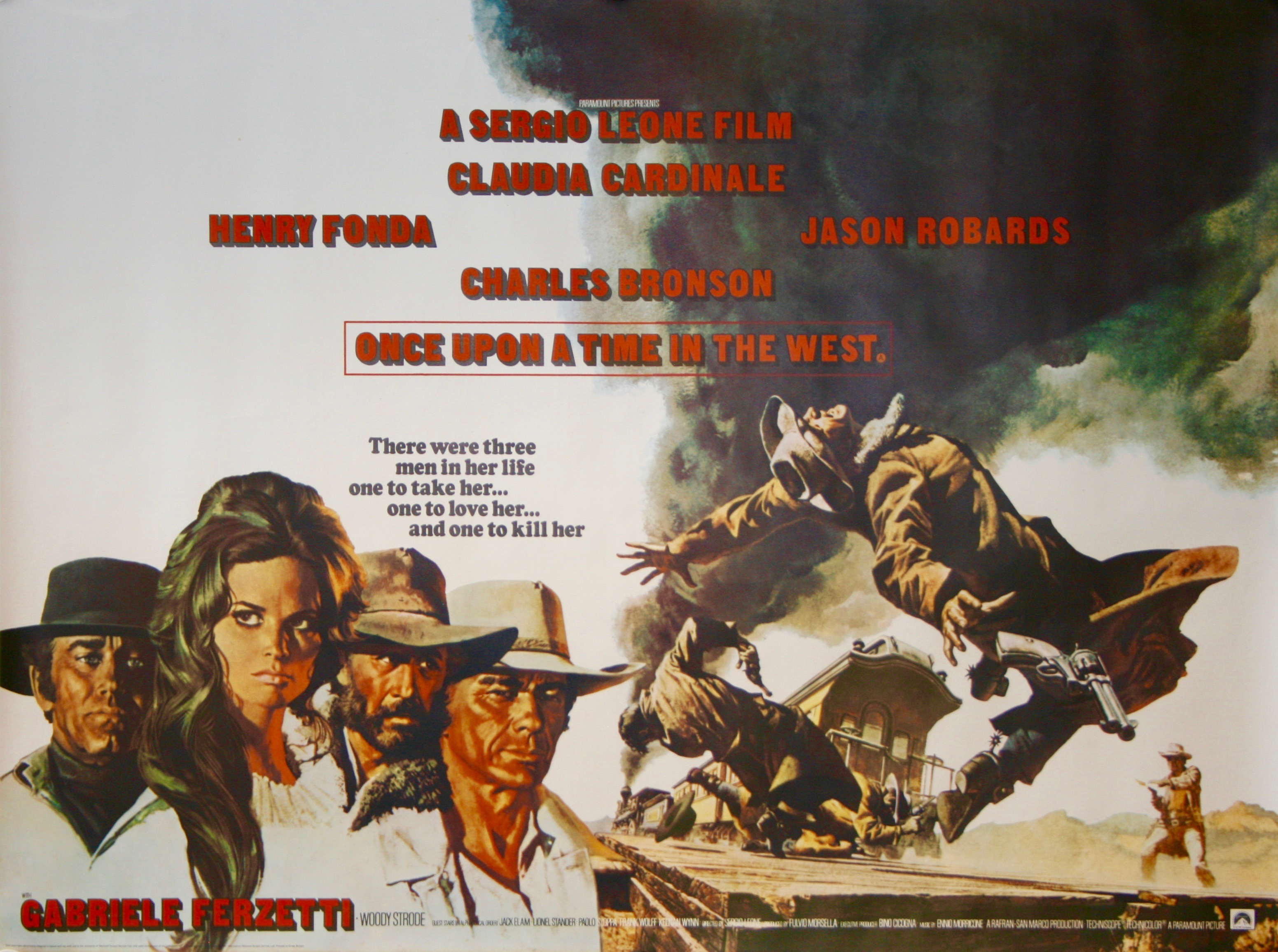 Original Once Upon a Time in the West Movie Poster - Sergio Leone