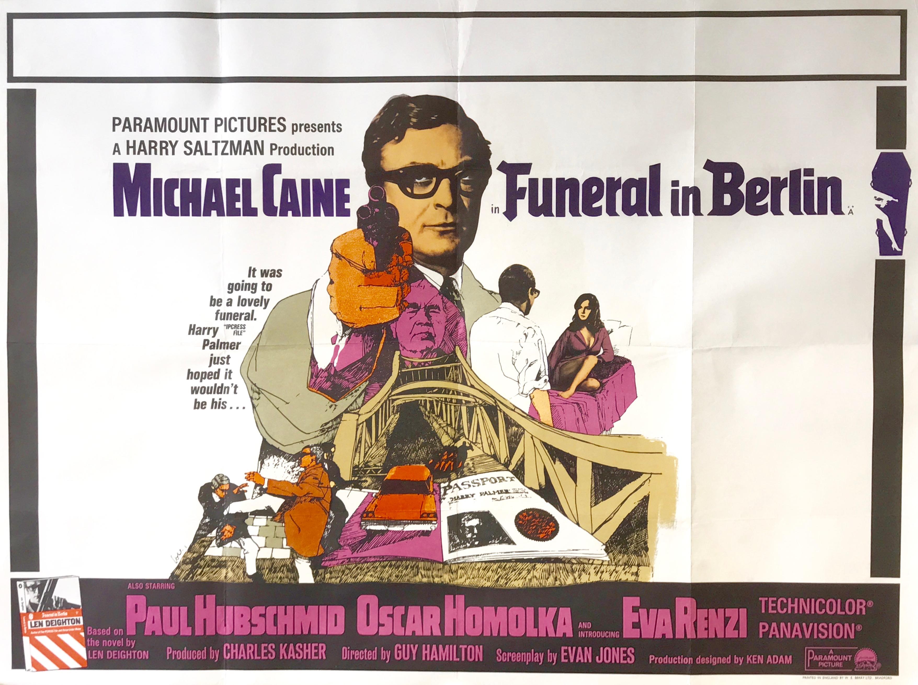 Funeral in Berlin - Vintage Movie Posters