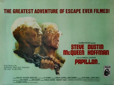 papillon vintage movie posters