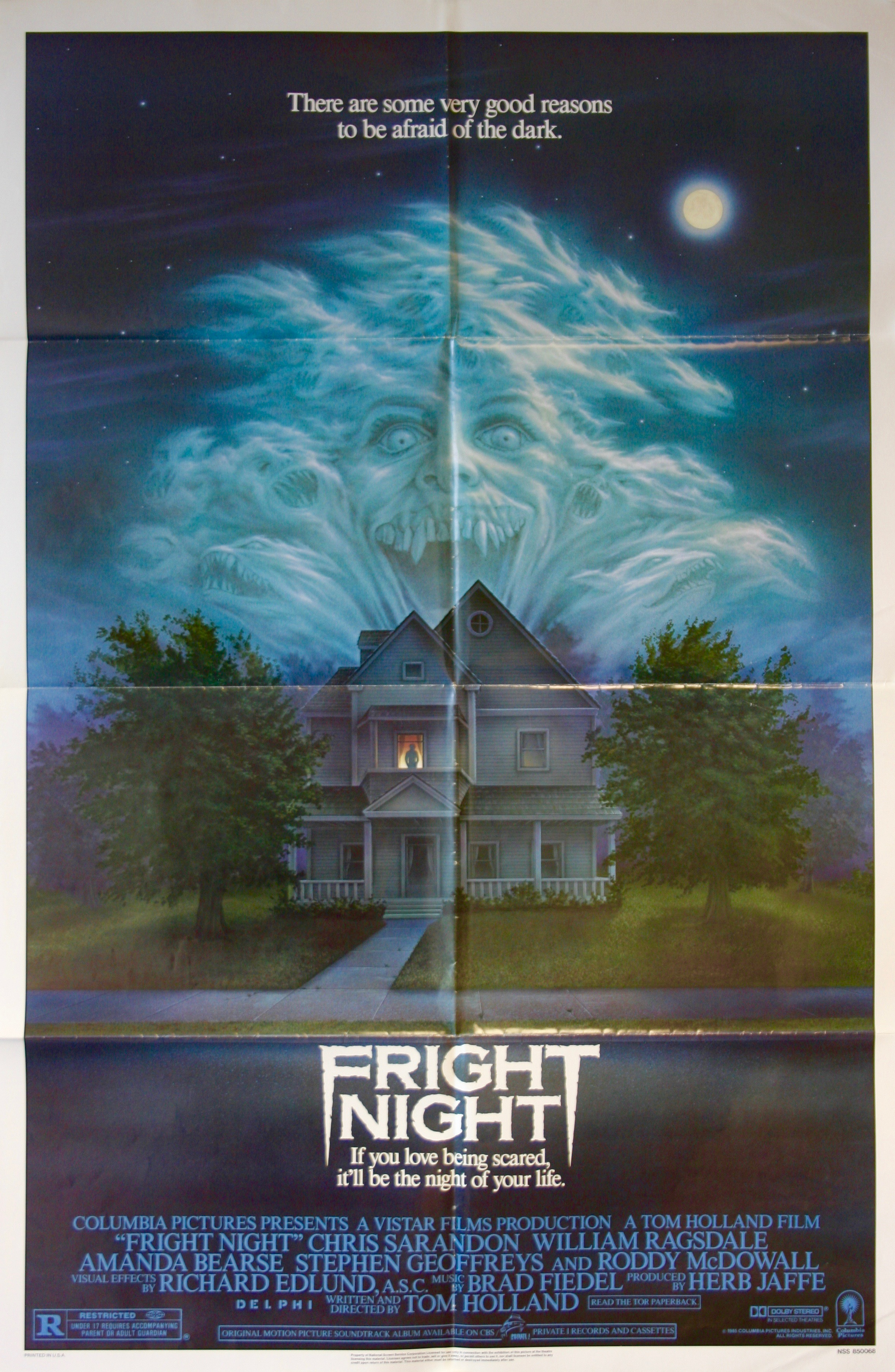 James Western Star >> Fright Night - Vintage Movie Posters