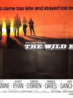 The Wild Bunch Movie Poster