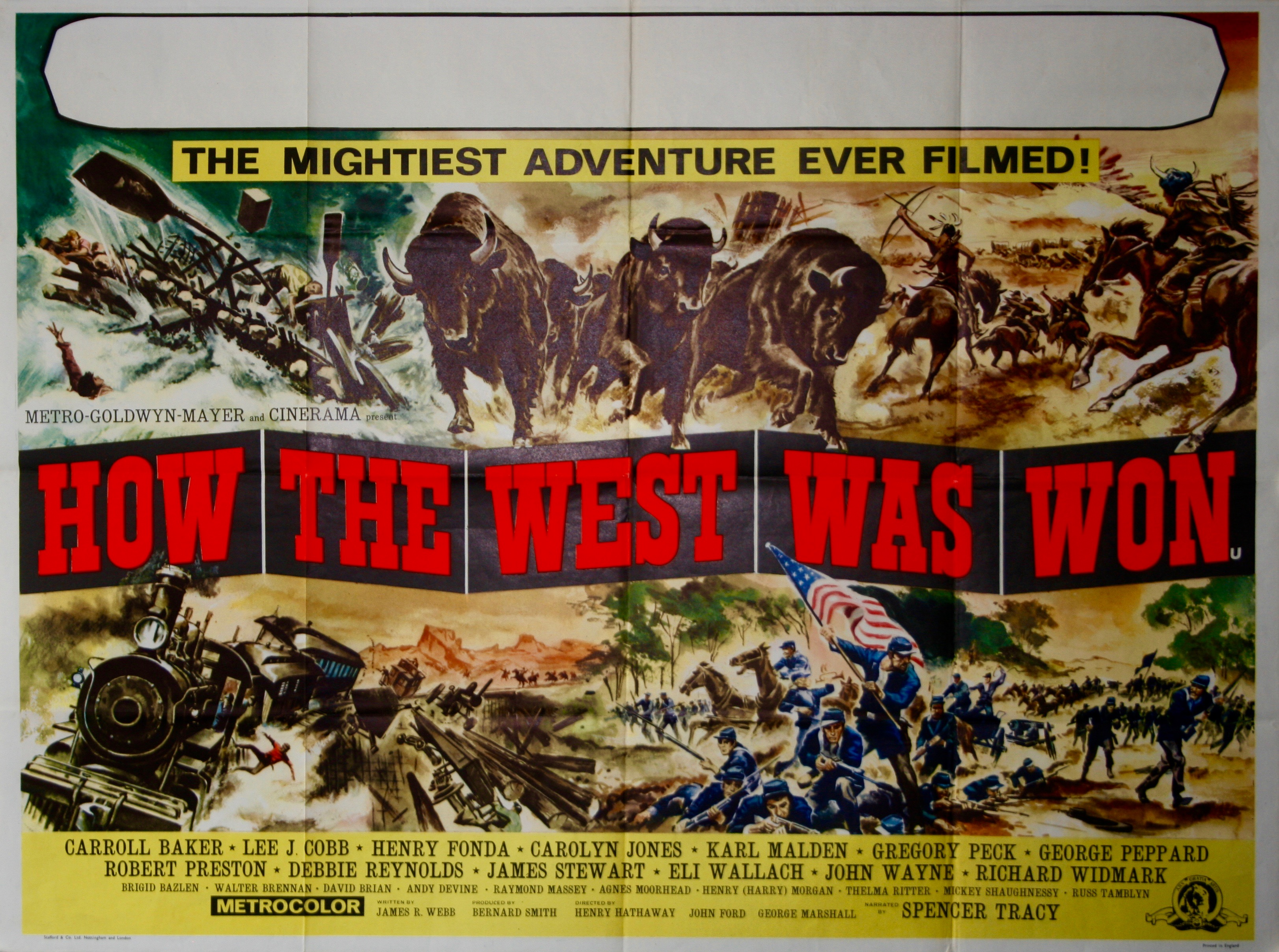 How The West Was Won - Vintage Movie Posters