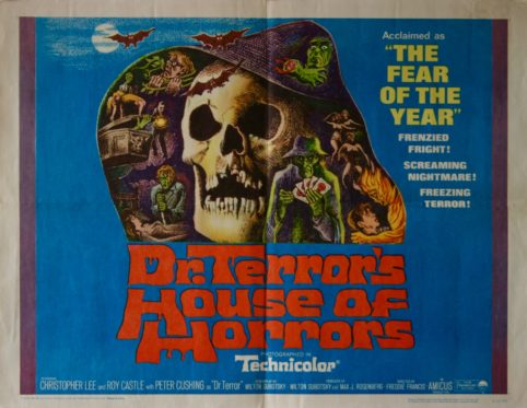 Dr Terrors House of Horrors Peter Cushing movie poster