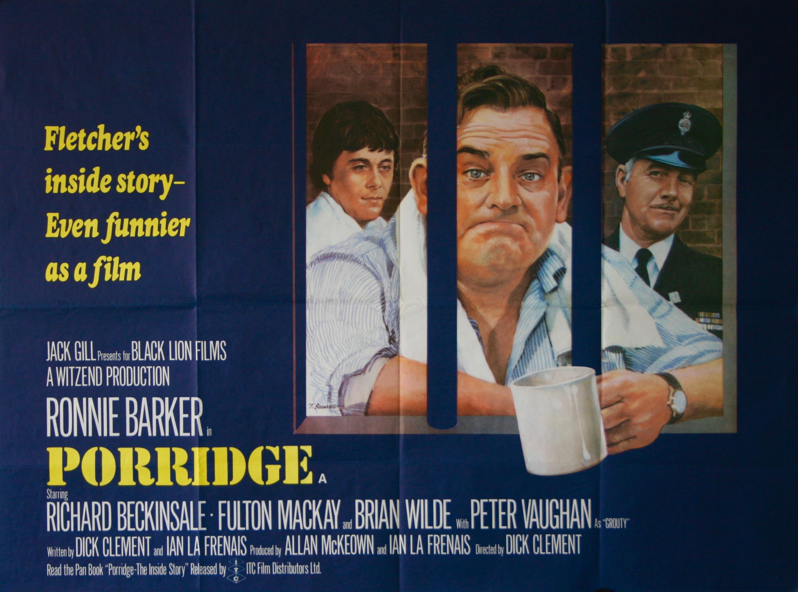 Porridge - Vintage Movie Posters
