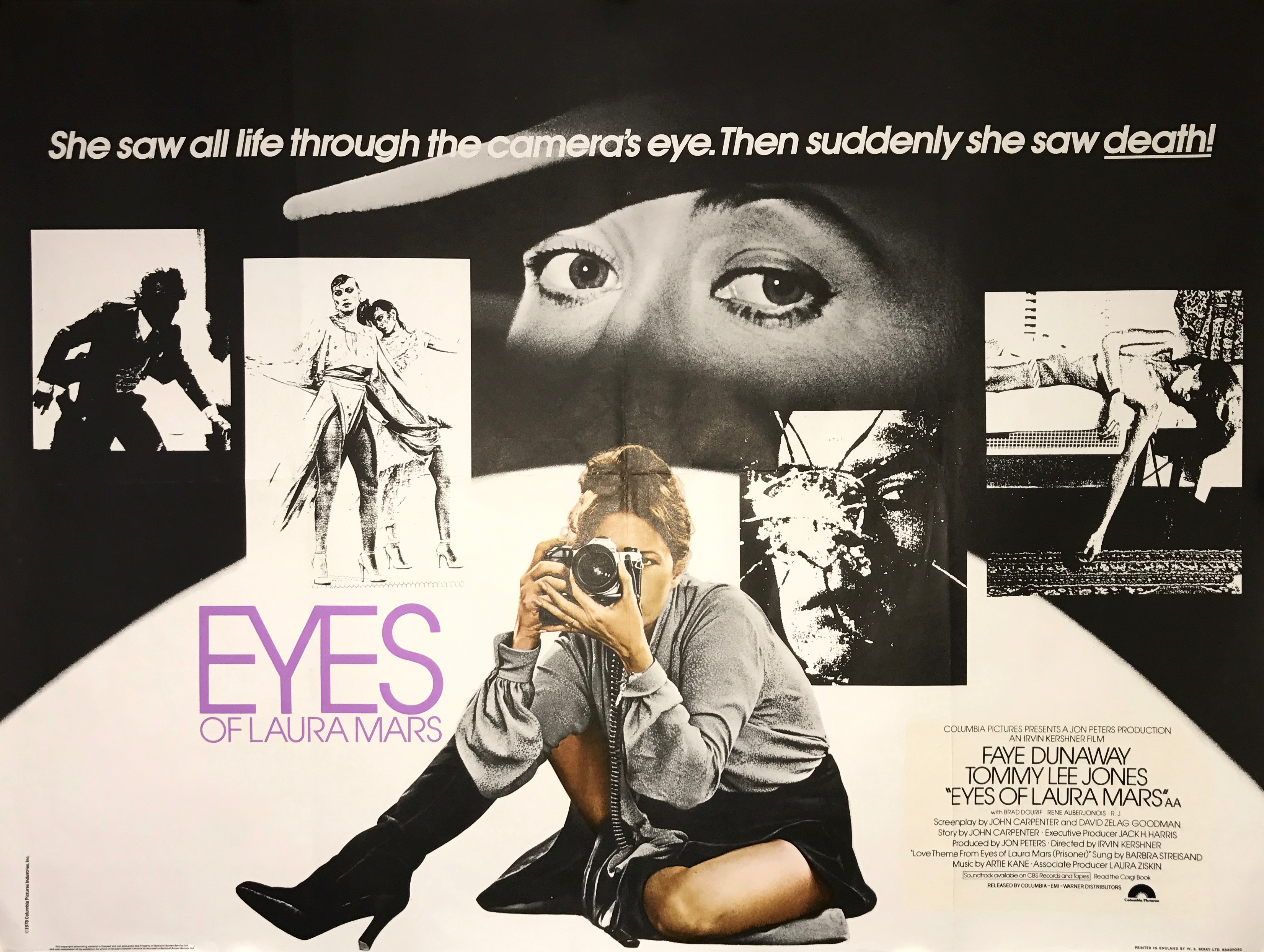 Eyes of Laura Mars - Vintage Movie Posters
