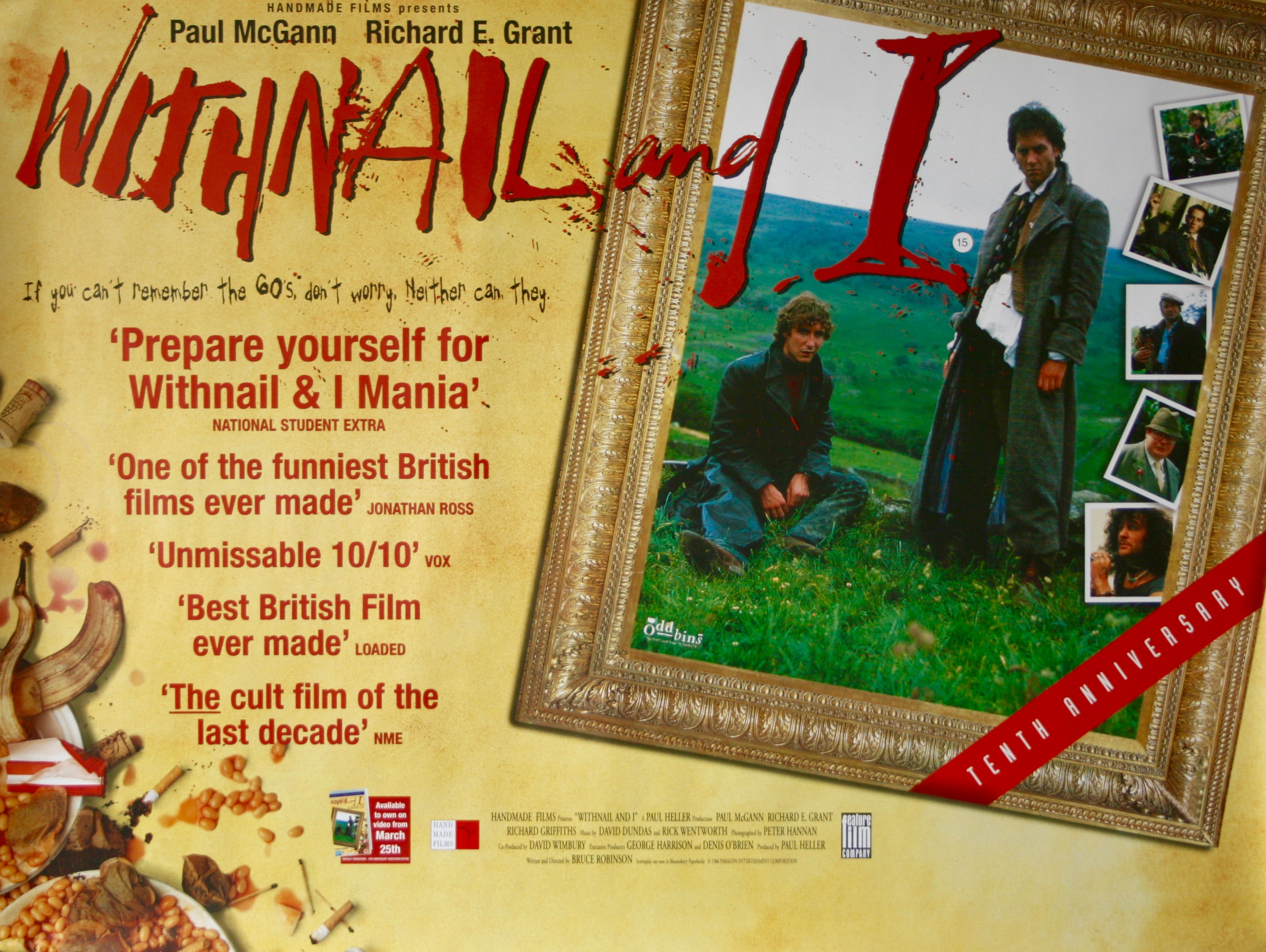 Withnail and I - Vintage Movie Posters