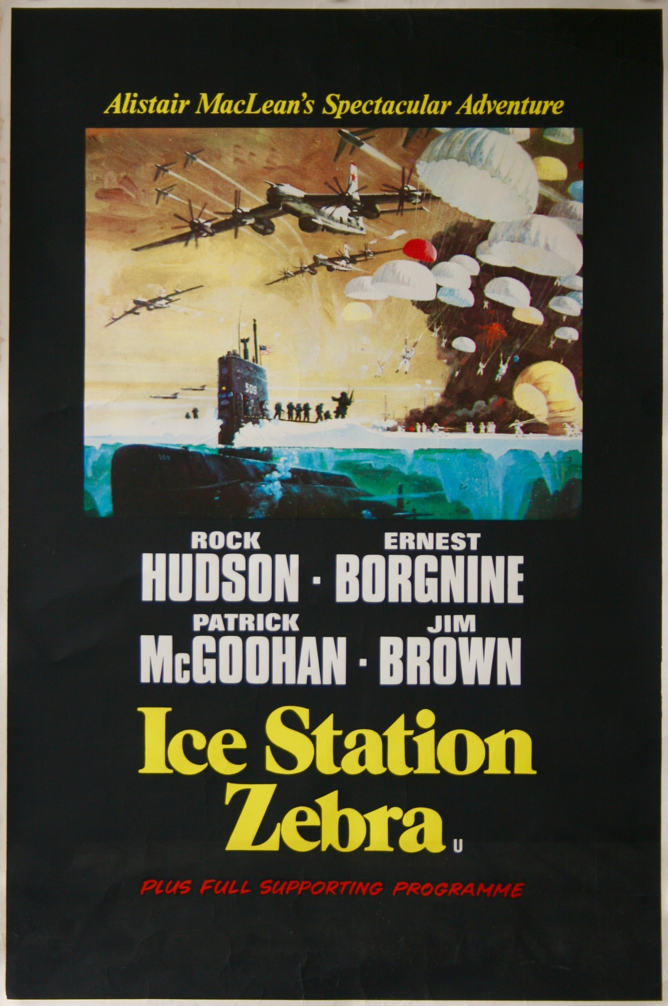 Ice-Station-Zebra-Movie-Poster