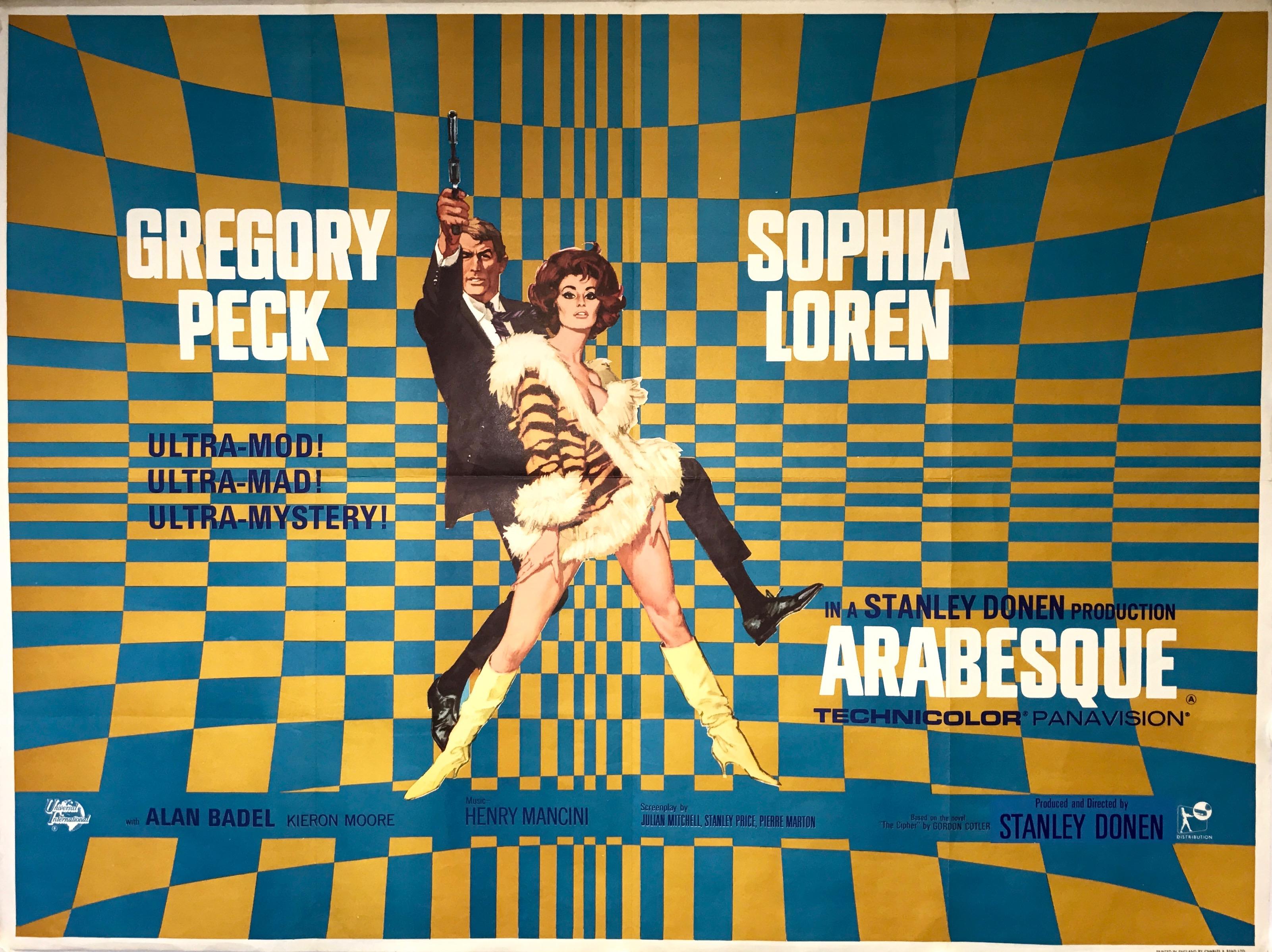 Arabesque - Vintage Movie Posters