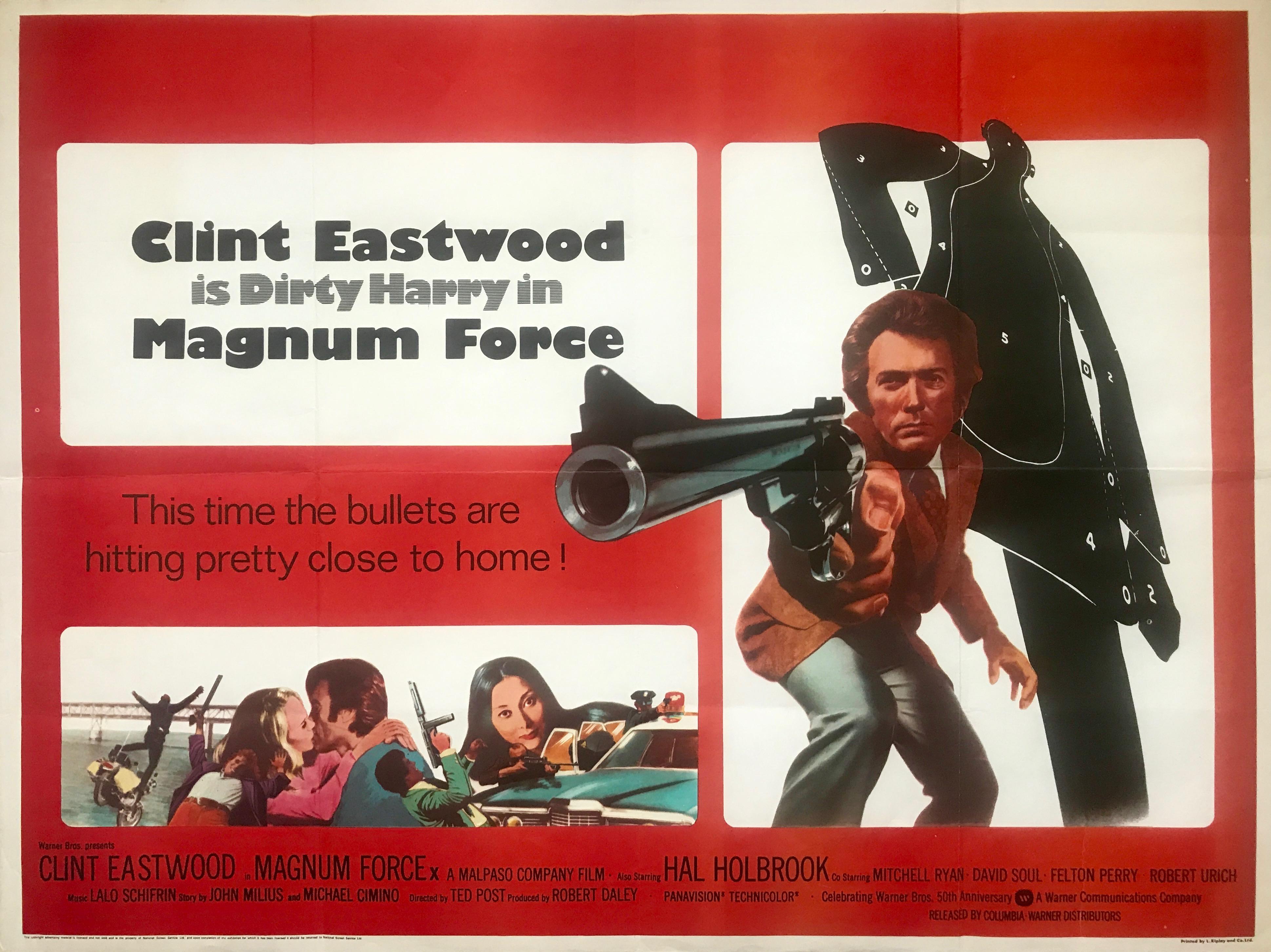 Magnum Force - Vintage Movie Posters