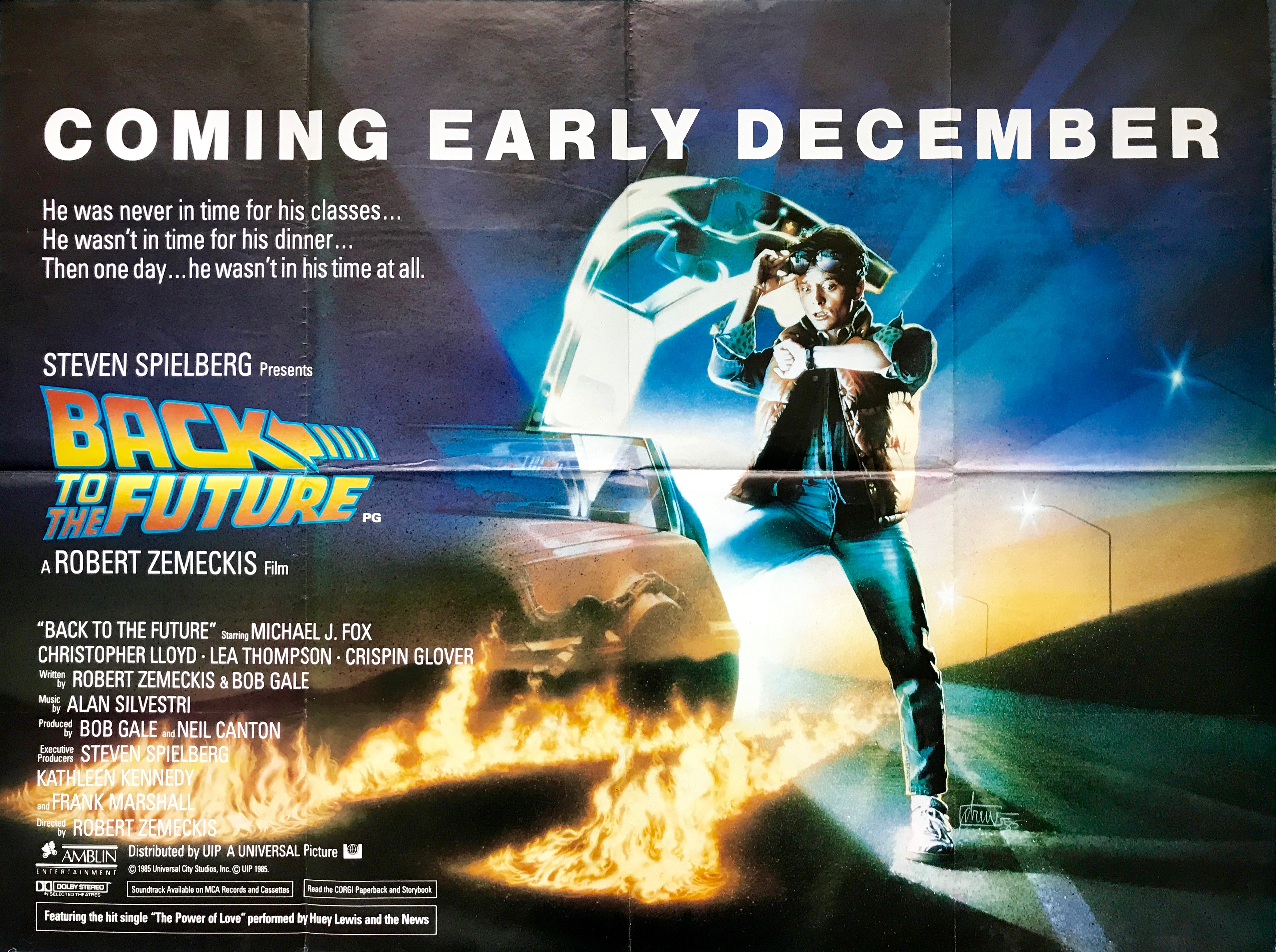 Back To The Future - Vintage Movie Posters