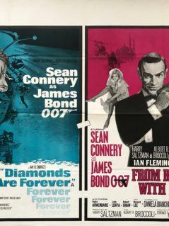 Diamonds-Are-Forever-/-From-Russia-With-Love-Movie-Poster