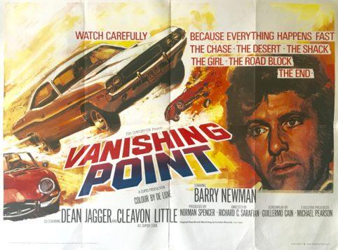 Image result for vanishing point movie poster