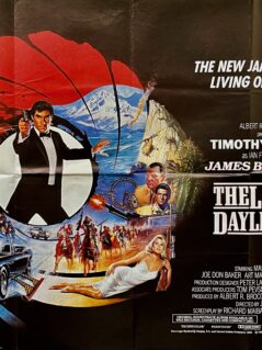 James Bond: The Living Daylights Film Poster