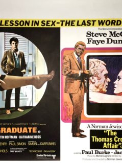 The-Graduate-/-The-Thomas-Crown-Affair-Movie-Poster