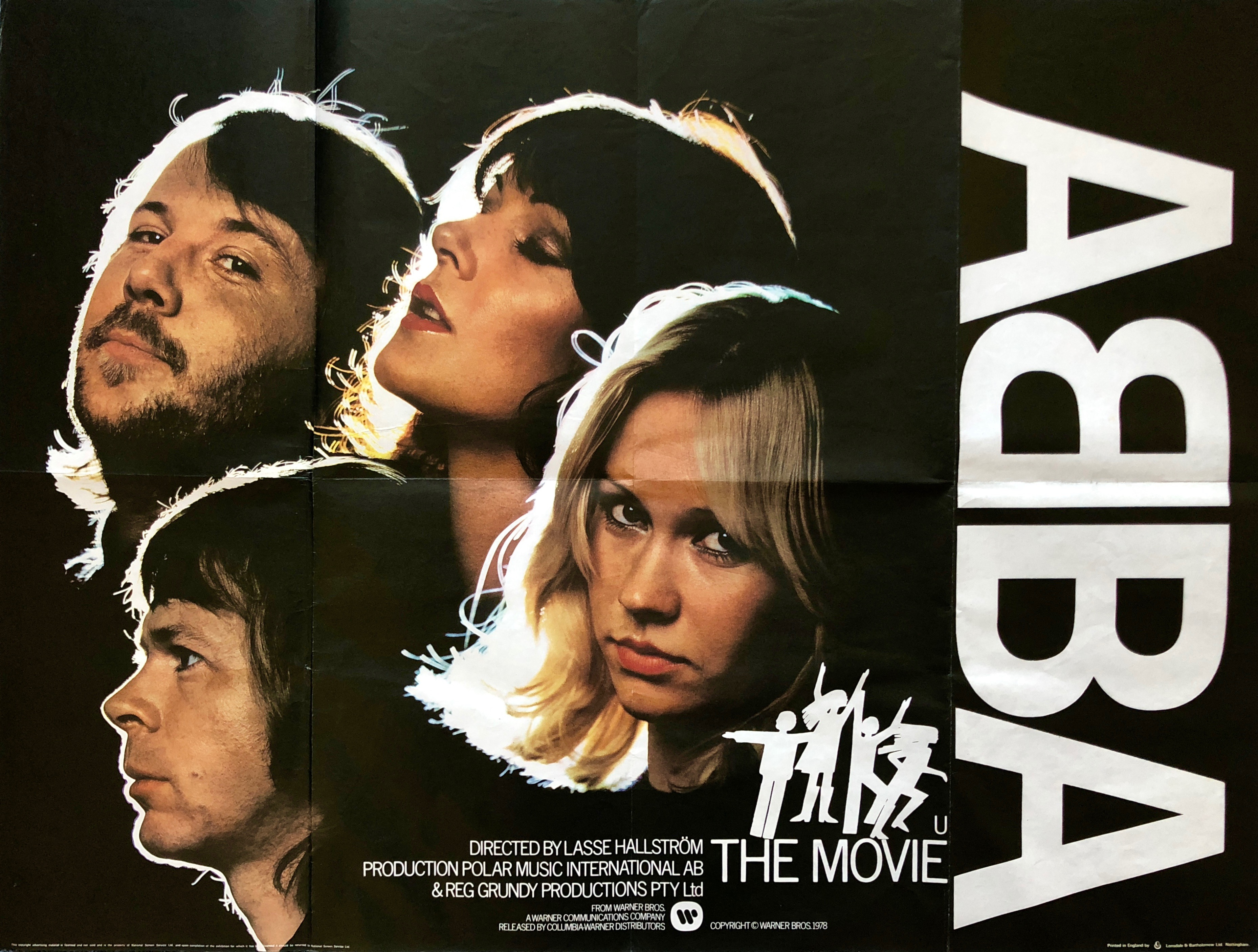 Image result for abba the movie QUAD POSTER