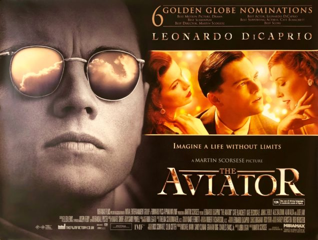 Image result for the aviator movie poster