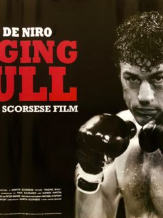 Original Raging Bull Movie Poster - Jake La Motta - Martin Scorsese - Robert De Niro - Joe Pesci - Boxing