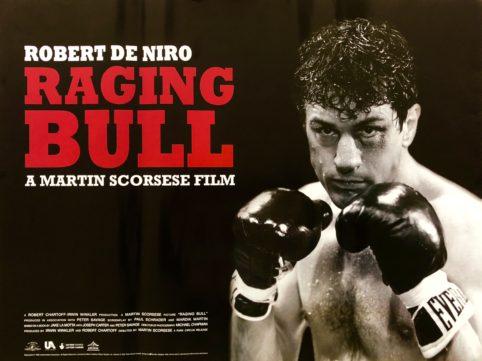 Original Raging Bull Movie Poster - Jake La Motta - Martin Scorsese - Robert De Niro - Joe Pesci - Boxing