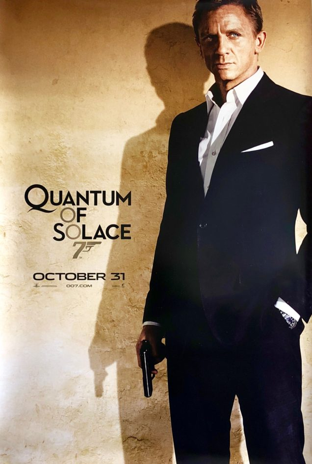 Image result for Quantum of Solace movie poster