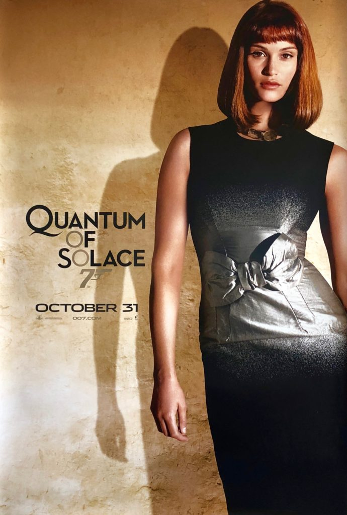 James Western Star >> Original James Bond: Quantum of Solace Movie Poster ...