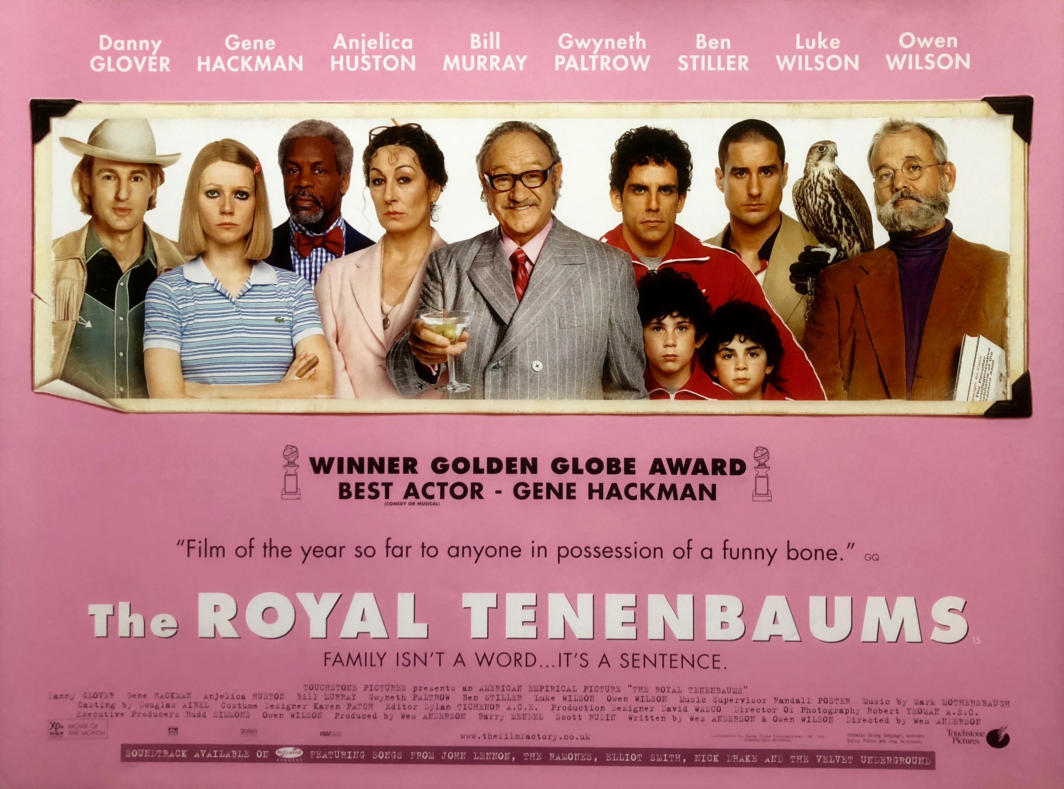 The Royal Tenenbaums Movie Poster - Original Poster