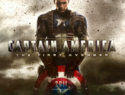 Image result for the first avenger poster