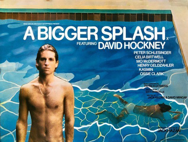 A Bigger Splash - Portrait of an Artist - Daivid Hockney