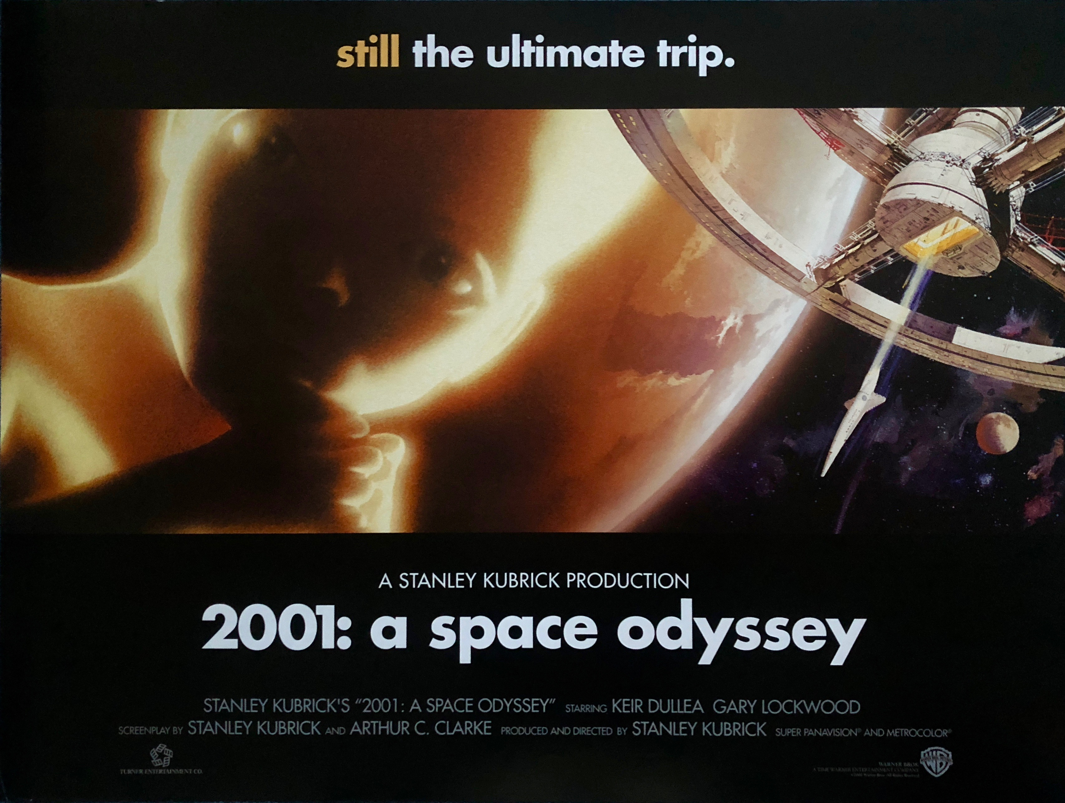 Image result for 2001 A Space odyssey british quad posters