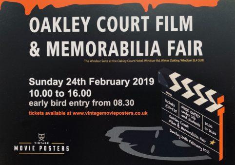 Oakley Court Film & Memorabilia Fair