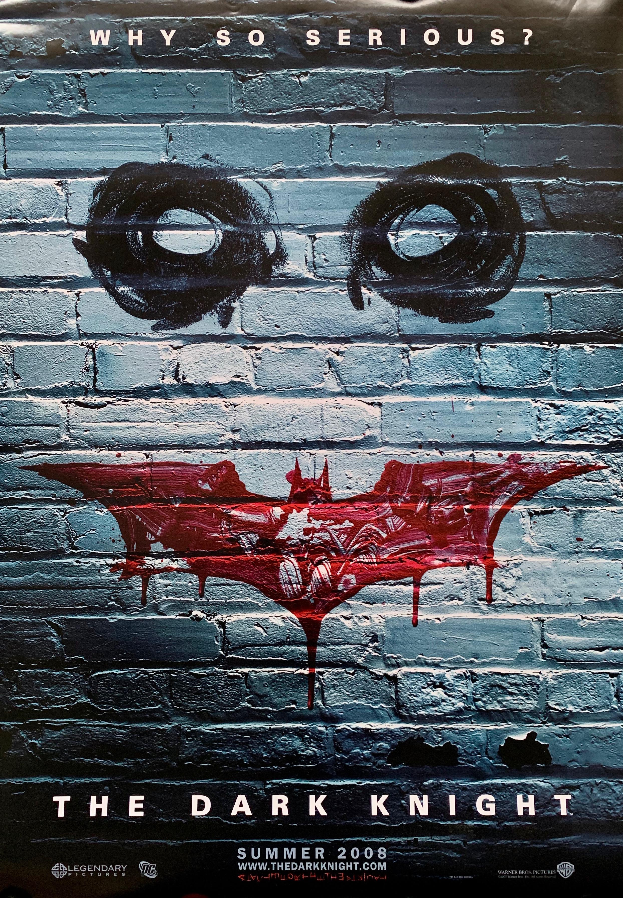 THE DARK KNIGHT Movie PHOTO Print POSTER Film 2008 Batman The Joker Glossy Art 1