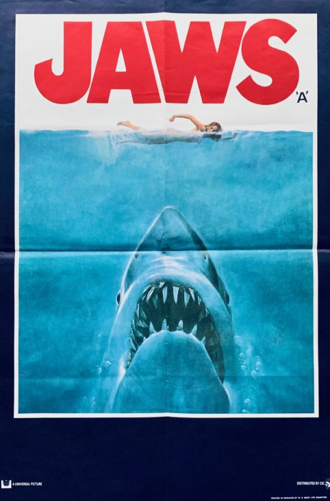 Jaws -Film-Poster