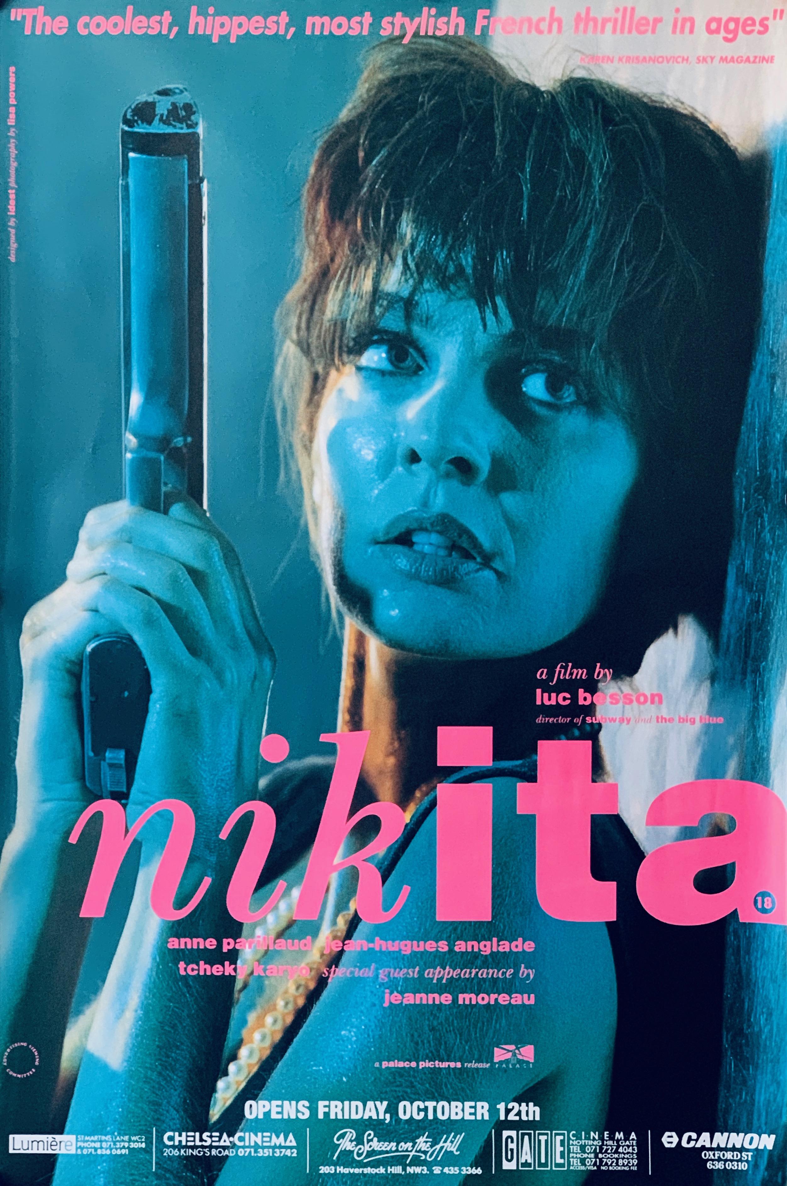 Original NIKITA Movie Poster - La Femme Nikita - Luc Besson