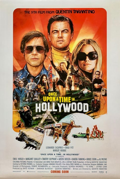 Once-Upon-a-Time-in-Hollywood-Movie-Poster