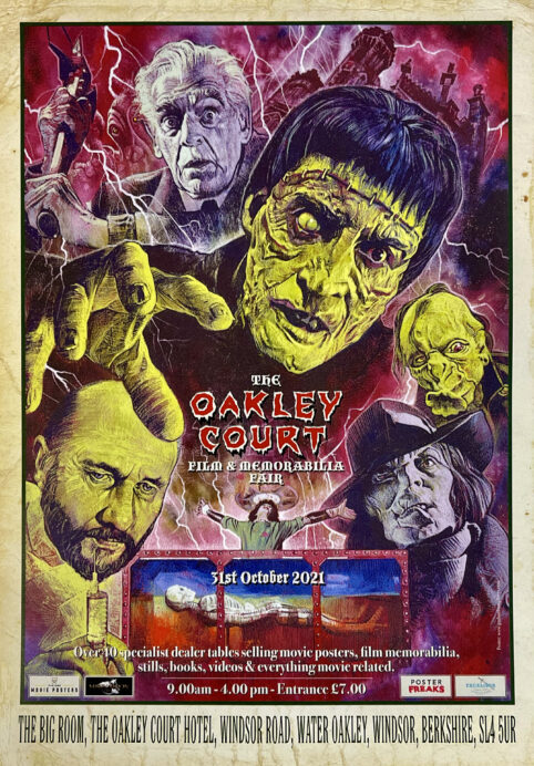 Oakley Court Film & Memorabilia Fair - Hammer Films - Amicus - Original Vintage Film Movie Posters - Movie Memorabilia