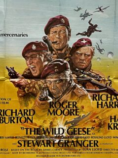 The Wild Geese Movie Poster