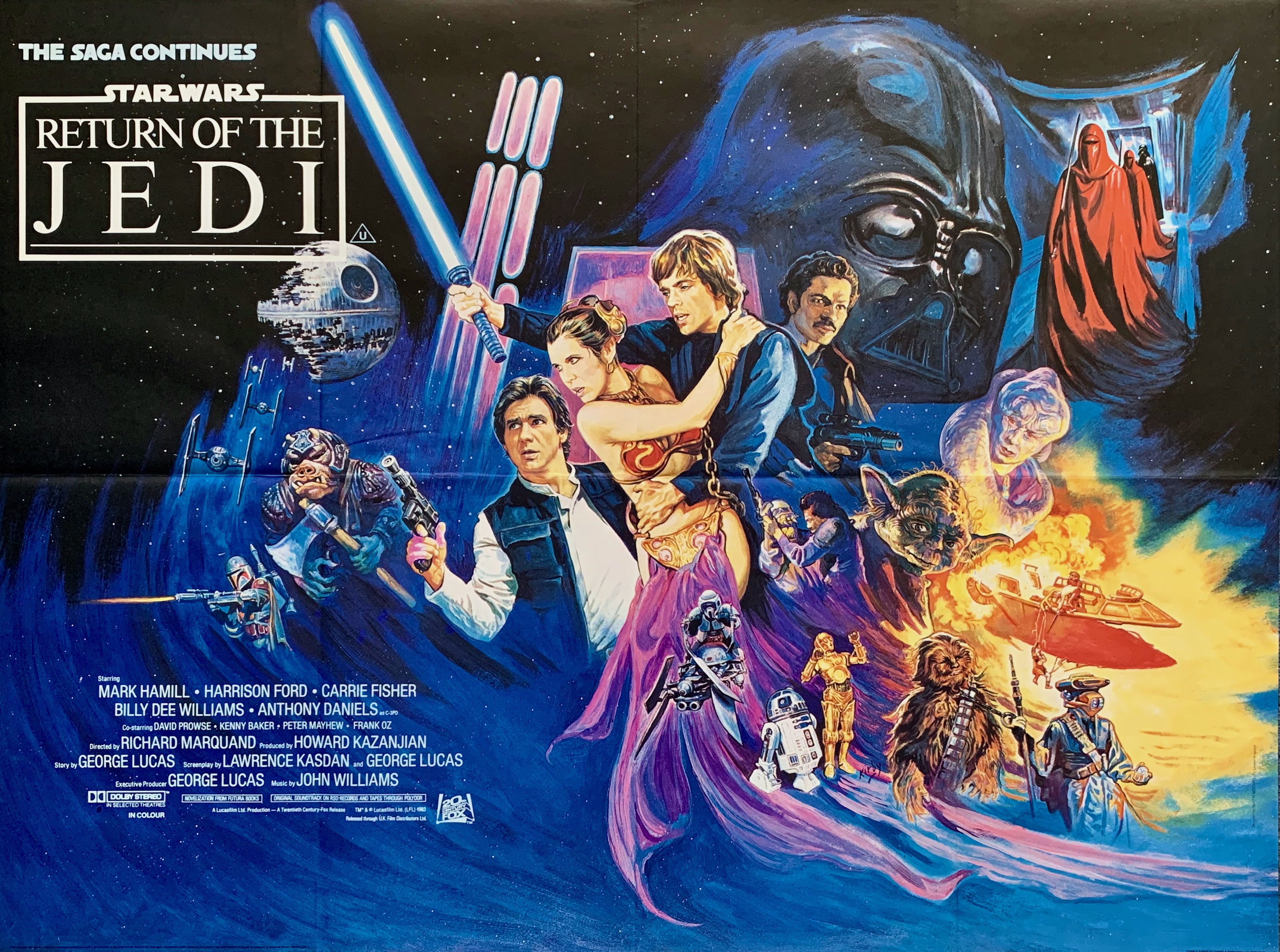 Image result for star wars retrun of the jedi horizontal