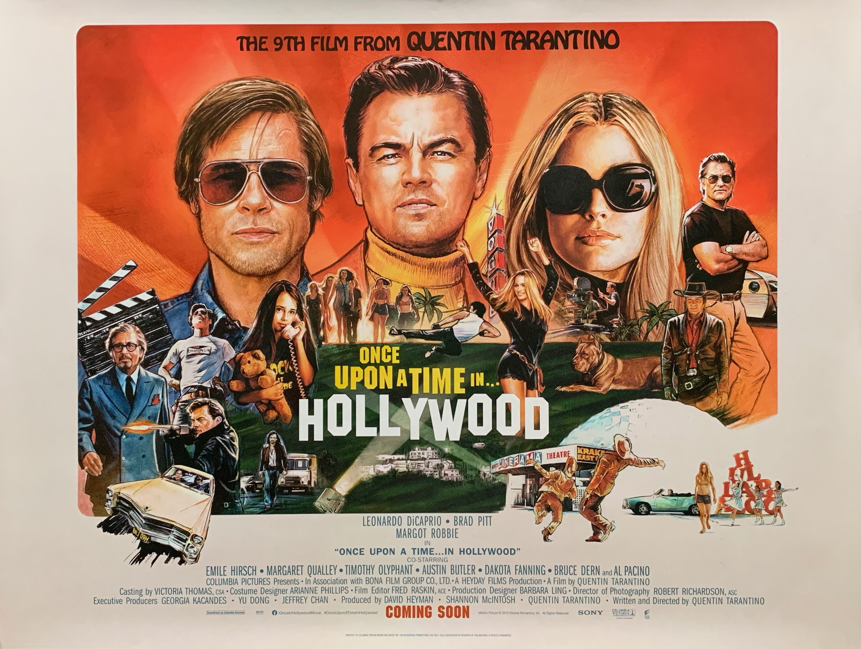 Image result for ONCE UPON A TIME...IN HOLLYWOOD