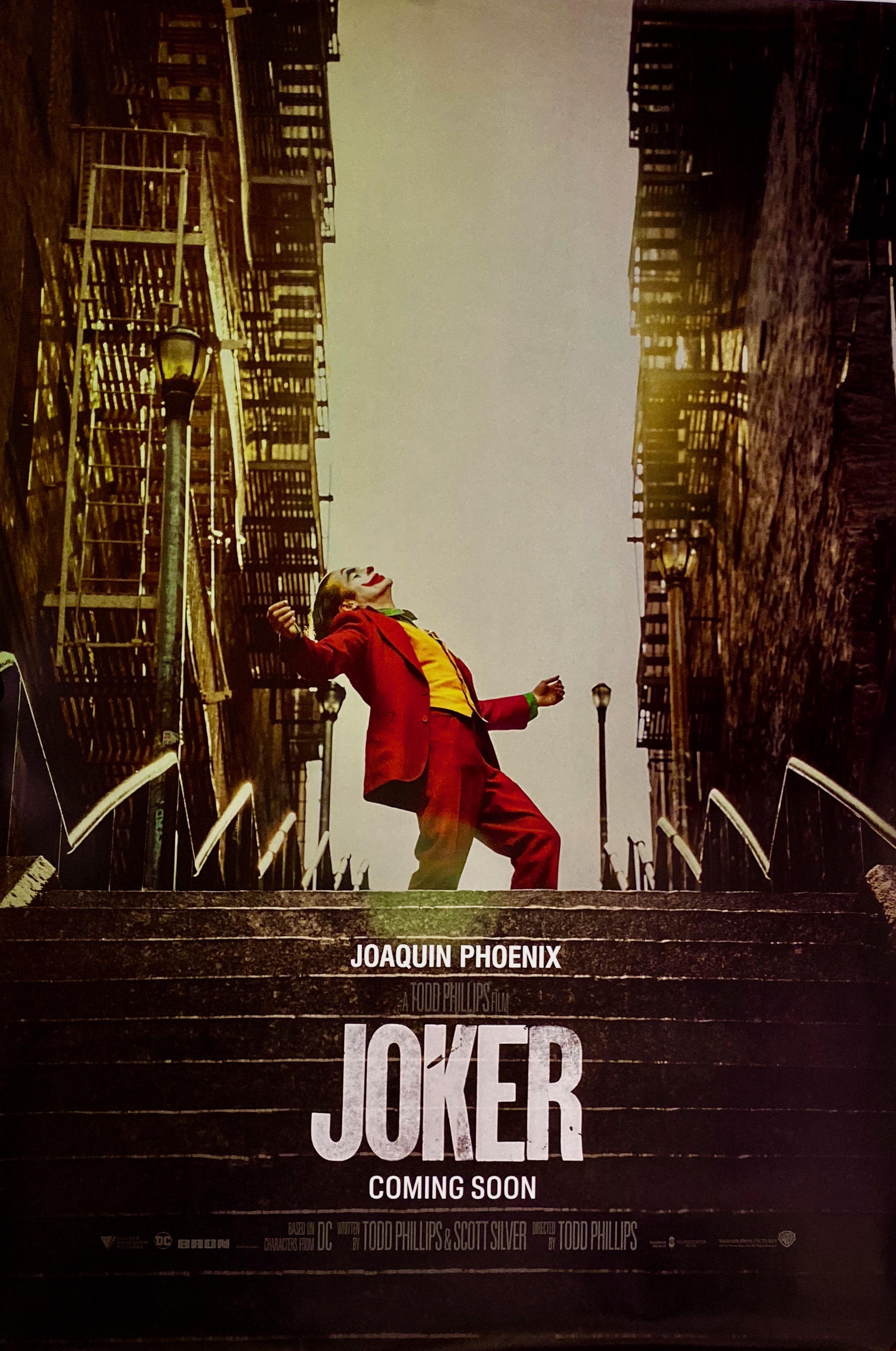 Original Joker Movie Poster - Joaquin Phoenix - Batman - Gotham City
