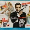 James Bond: From Russia With Love Movie Poster